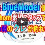 fathom|ファゾムスタッフ釣行動画|「道糸BlueModel使用でfathom素人スタッフでも50cm弱のグレが釣れちゃう」の巻